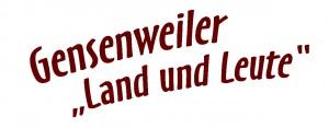 Gensenweiler Logo