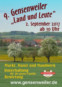 Gensenweiler Land und Leute
